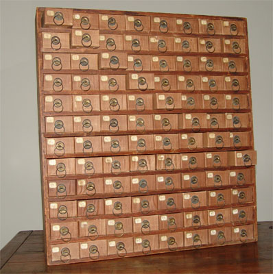 Mini Drawer Organizer. Helen Warren Spector   Early American Furniture and Decorative